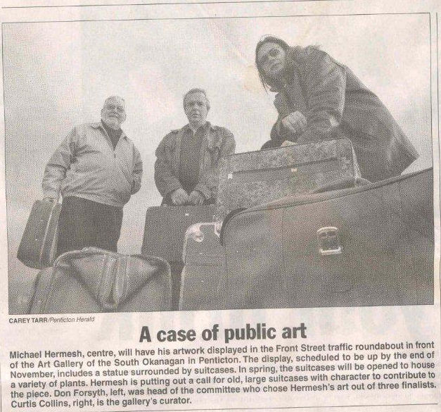 News article from the Penticton Herald October 29th 2005.